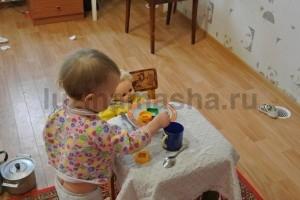 игра посудой
